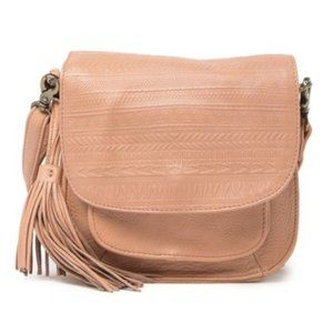 NWT Day & Mood – Sandi Leather Crossbody Bag Blush